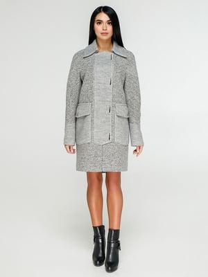 Пальто сіре   4886138
