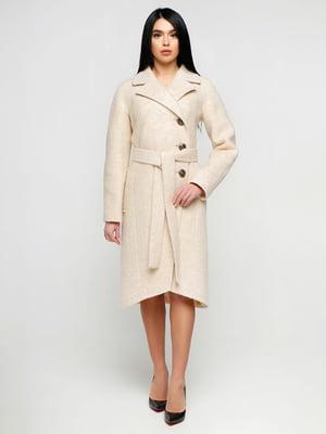 Пальто бежевое | 4886144