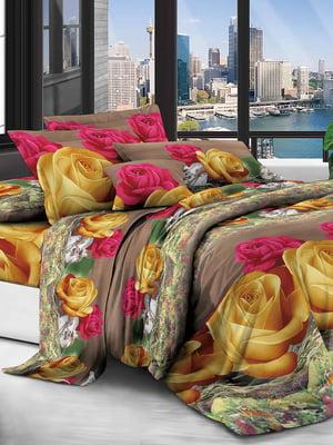 Комплект постельного белья двуспальный (евро)   4886645