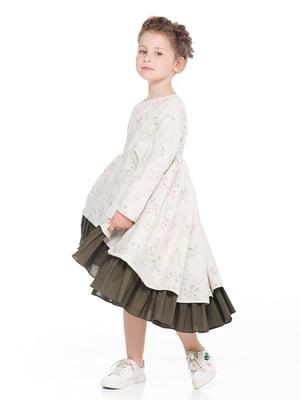 Сукня в квітковий принт | 4886285