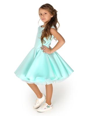 Сукня м'ятного кольору | 4886306