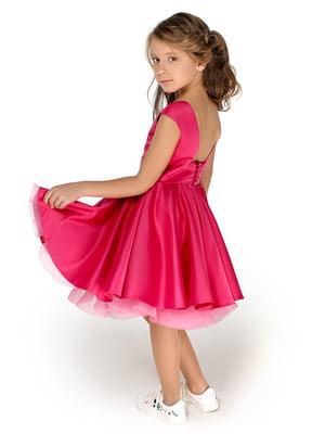 Сукня малинова | 4886307