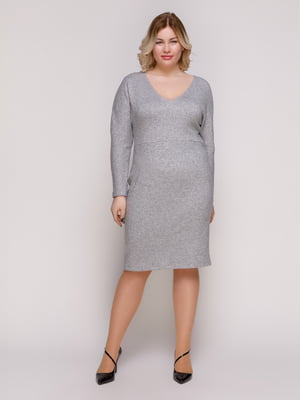 Платье темно-серое | 4884759