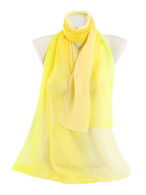 Шарф жовтий | 4886232