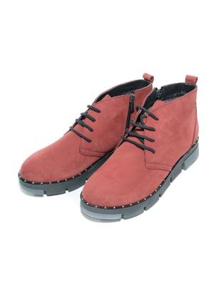 Ботинки бордовые | 4887108
