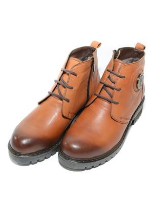 Ботинки рыжего цвета | 4887110