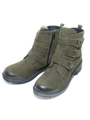 Ботинки цвета хаки | 4887120