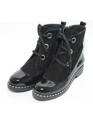 Ботинки черные | 4887128