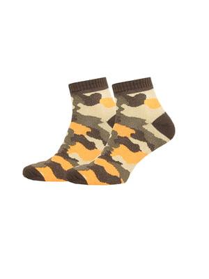 Носки в камуфляжный принт | 4887597