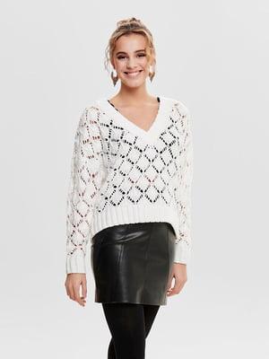 Пуловер белый   4862071