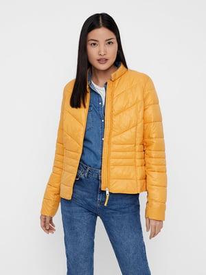 Куртка желтая   4862943