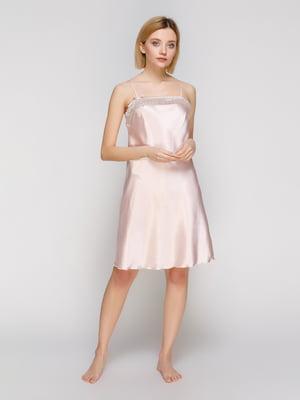 Рубашка ночная розовая | 2160390