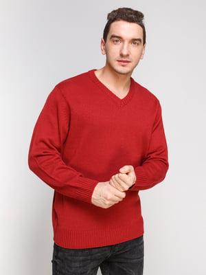 Пуловер красный | 4855012