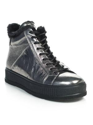 Ботинки серебристые   4762767