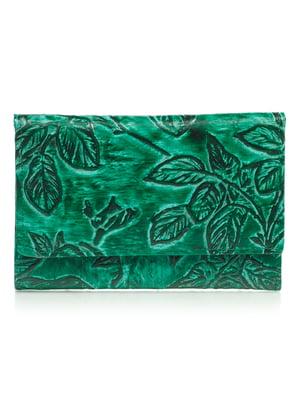 Гаманець зелений з малюнком | 4884530