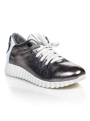 Кросівки кольору нікель | 4884861