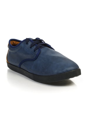 Кеды сине-коричневые | 4828897