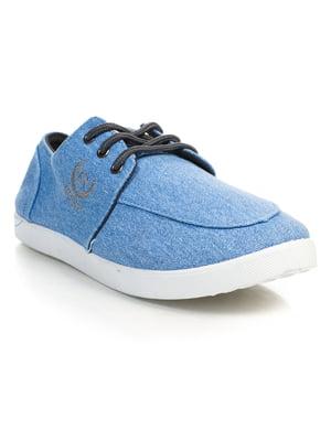 Кеды синие | 4839492