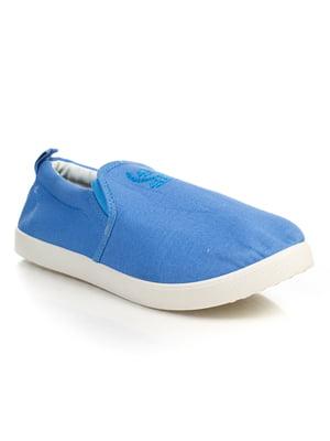 Слипоны голубые | 4833321