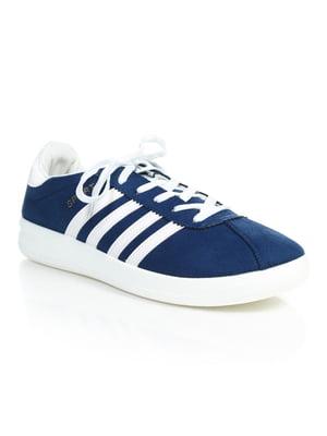 Кроссовки синие | 4888749