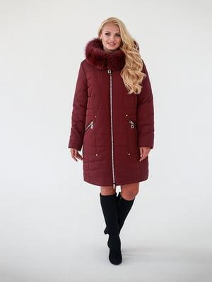 Пальто бордове - Waukeen - 4888206