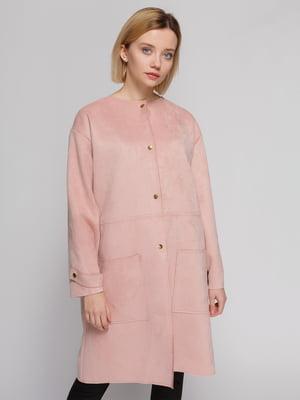 Пальто розовое | 4874429