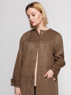 Пальто коричневое | 4875227