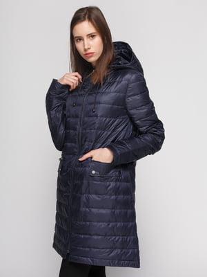 Пальто синее | 4874348