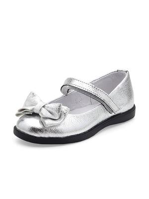 Туфлі сріблясті | 4824292