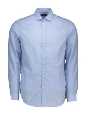 Рубашка голубая | 4879473