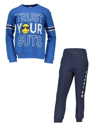 Костюм спортивний: джемпер і штани | 4879511