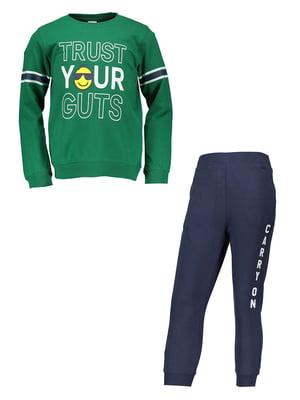 Костюм спортивний: джемпер і штани | 4879512
