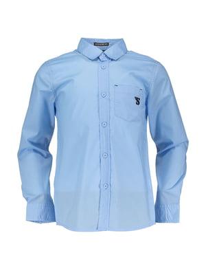 Сорочка блакитна | 4879593