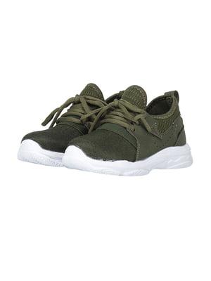 Кросівки оливкового кольору | 4879668