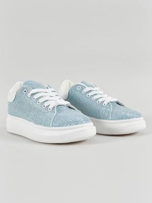 Кеды голубые | 4879677