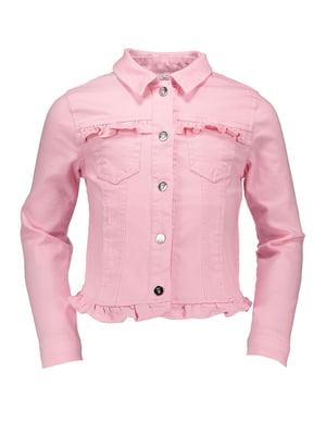 Куртка рожева | 4890092