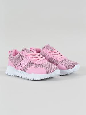 Кроссовки розовые | 4890132
