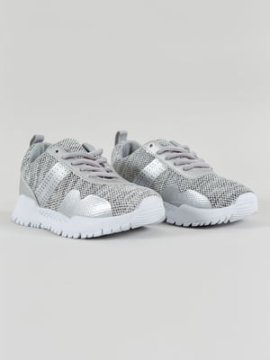 Кроссовки серебристые | 4890133