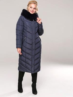 Пальто темно-синее | 4886847