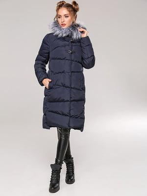 Пальто темно-синее | 4886861
