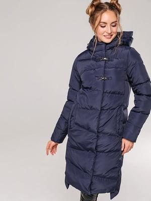 Пальто темно-синее | 4886866