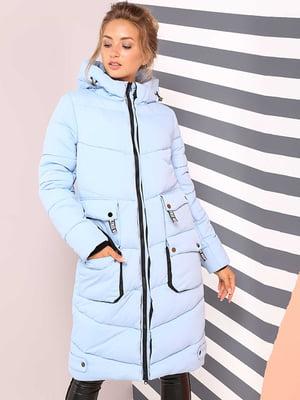 Пальто голубое | 4886888