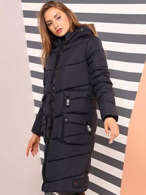 Пальто темно-синее | 4886890