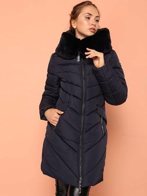 Пальто темно-синее | 4886901