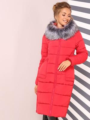Пальто алого цвета | 4886960