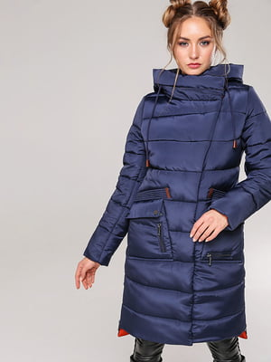 Пальто темно-синее | 4886968