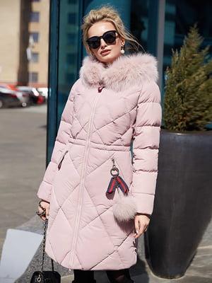 Пальто пудрового цвета | 4886974