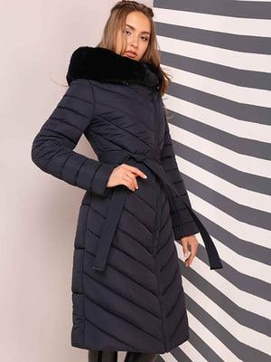 Пальто темно-синее | 4886983