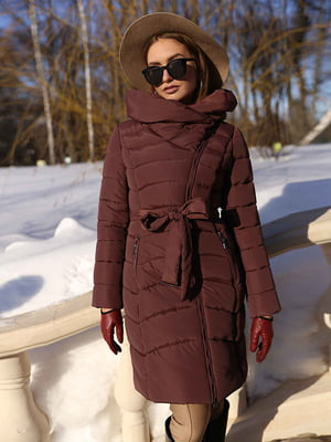 Пальто кофейного цвета | 4886829