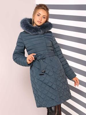 Пальто изумрудного цвета | 4886943
